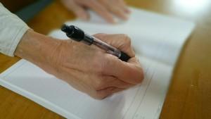 エンディングノートを書く
