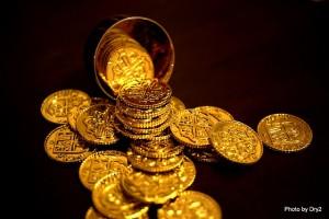 金のメダル